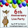 Driving Radio Show Episode 163 – HRN Six Year Anniversary Party